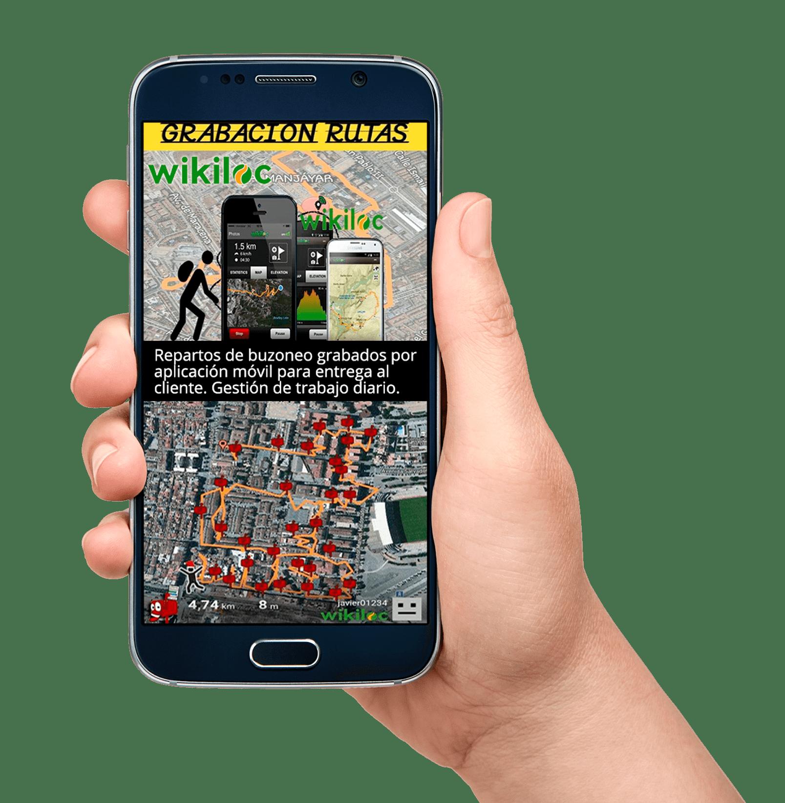 reparto-buzoneo-wikiloc